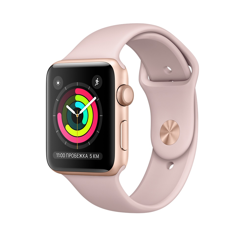 Apple Watch Series 3 42mm, золотой