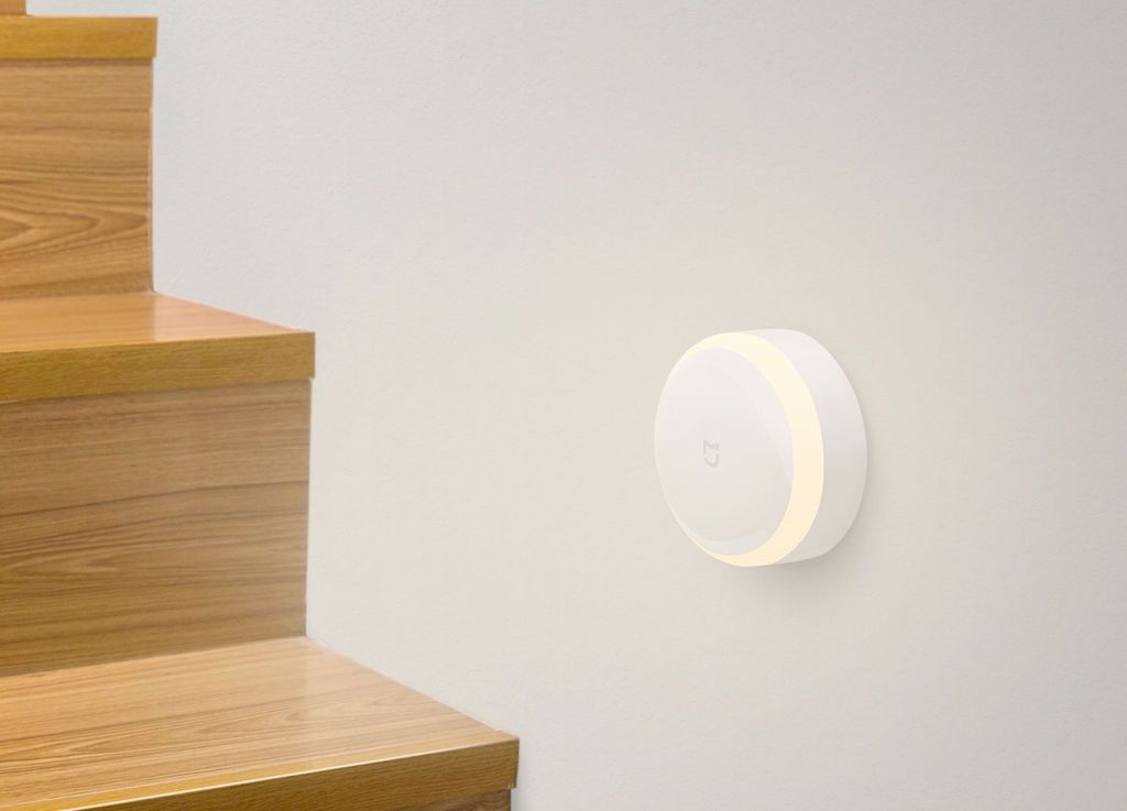 Xiaomi Mi Motion-Activated Night Light, белый. Фото N2