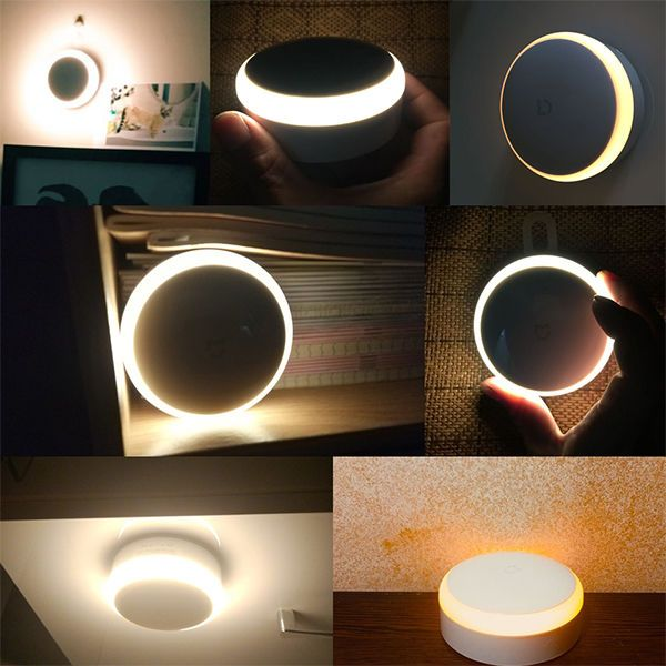 Xiaomi Mi Motion-Activated Night Light, белый. Фото N3