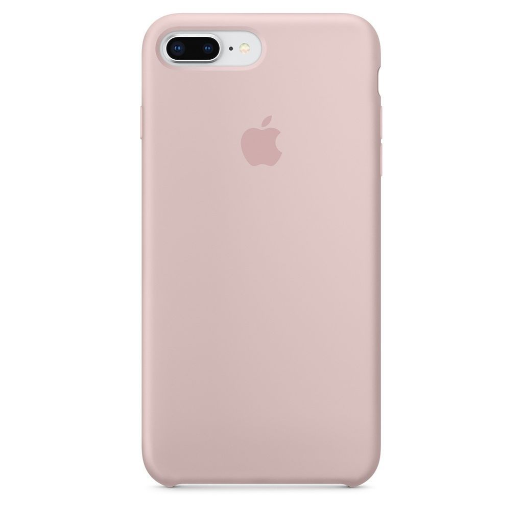 Накладка Apple iPhone 7 Plus Silicone Case, розовый