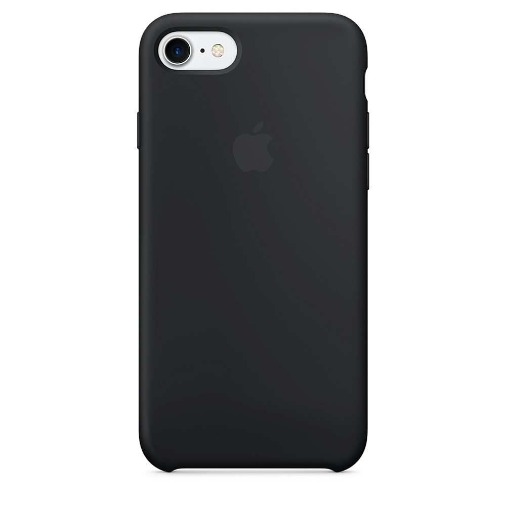 Накладка Apple iPhone 7 Silicone Case, черный