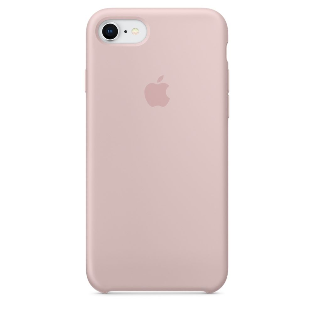 Накладка Apple iPhone 7 Silicone Case, розовый