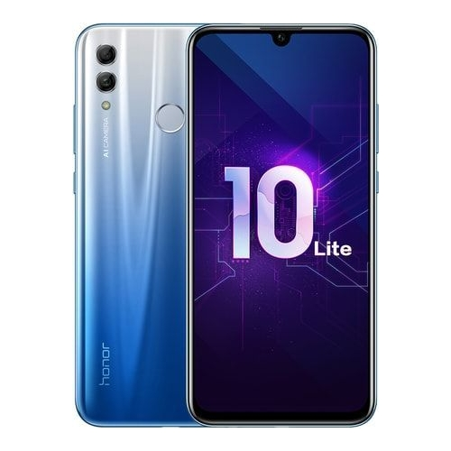 Honor 10 lite  mts, голубой