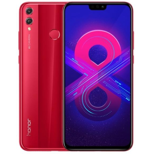 Honor 8X 4/64Gb velcom, красный