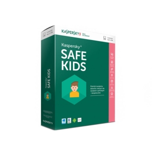 Kaspersky Safe Kids. 1-User 1 year Base Retail Pack ( 1 девайс на 1 год)