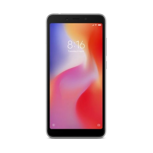 Xiaomi Redmi 6 3/32Gb mts, черный