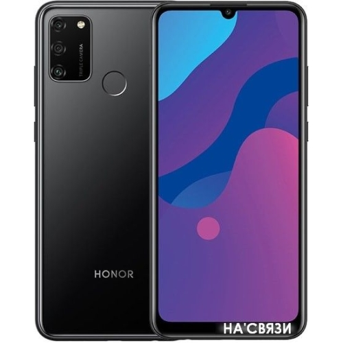 Смартфон HONOR 9A MOA-LX9N 3GB/64GB (черный)