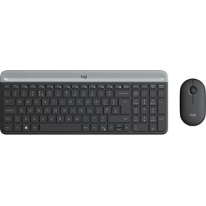 Клавиатура + мышь Logitech MK470 Slim Wireless Combo
