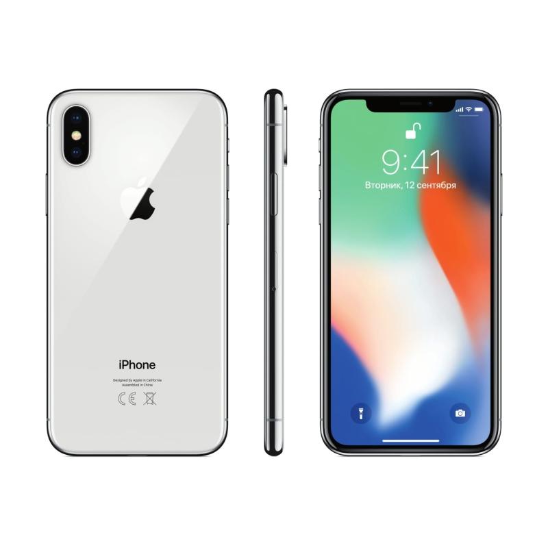 b167ee3214107 Купить Apple iPhone X 64GB, серебристый в рассрочку с доставкой в ...