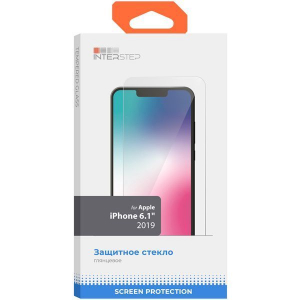 Стекло IS Apple iPhone 11 2.5D, черный