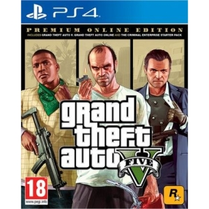 Игра Grand Theft Auto V. Premium Online Edition для PlayStation 4