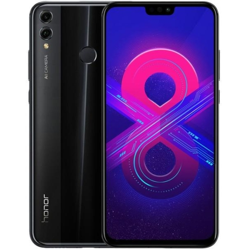 Honor 8X 4/64gb mts, черный