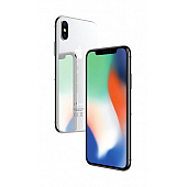 Apple iPhone X 64GB, серебристый
