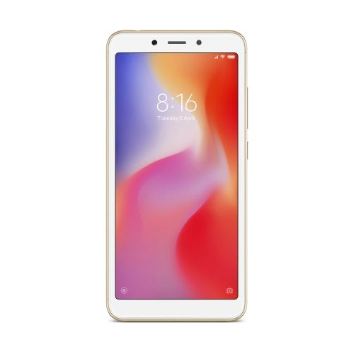 Xiaomi Redmi 6a 2/32Gb, золотой